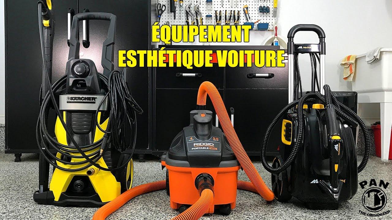 Quipements pour lavage de voitures nettoyeur haute for Materiel professionnel pour garage automobile