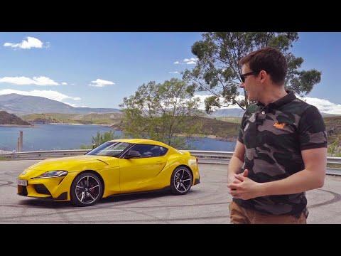 TOYOTA SUPRA A90! Первый тест-драйв и обзор Тойота Супра 2020