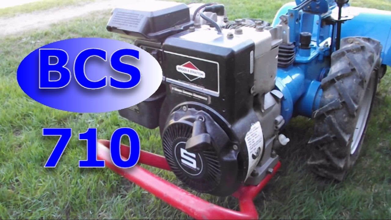 BCS model 710 overview and startup