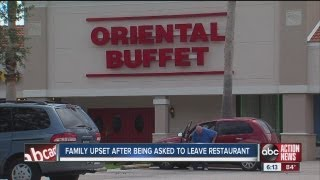 Woman says restaurant banned her family for eating too much