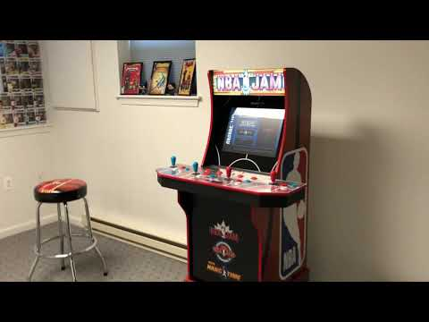NBA Jam Arcade1UP Time Lapse from GeeK KetchUP Podcast