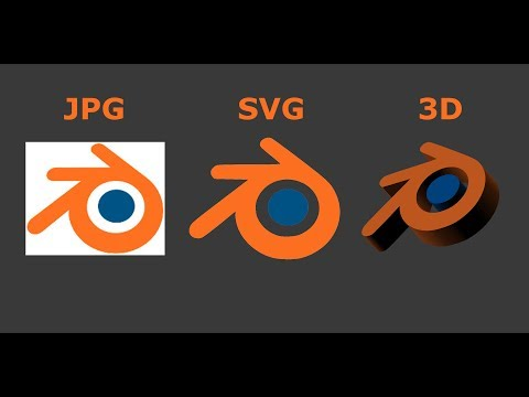 Blender Tutorial - 2D To 3D In Blender - Quick Tutorial