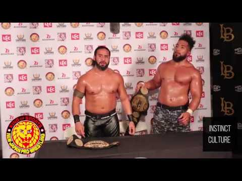 Tama Tonga and Tanga Loa Post Match Interview | Fighting Spirit Unleashed | NJPW