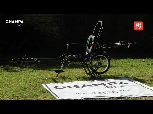 CINCO TV - Presentación de la Champa Bike en Zona Norte