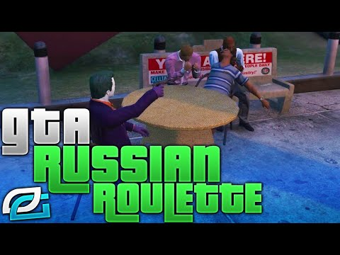 GTA 5 Mods - HILARIOUS RUSSIAN ROULETTE MOD (GTA 5 Mods Funny Moments)