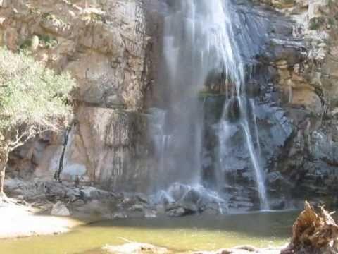 Cascada en el Valle de Guadalupe