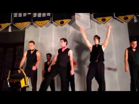 AGHS Senior Boys Dance 2014