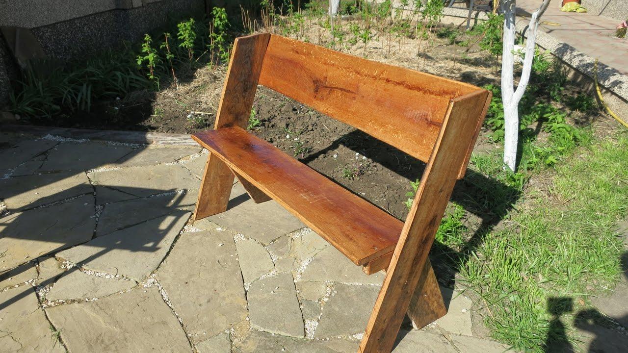 Как сделать простейшую скамейку фото 193