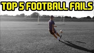 Top 5 football (soccer) fails of the week #39 - freestyle fail