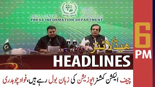 ARY News | Prime Time Headlines | 6 PM | 19 September 2021