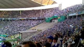MSV Duisburg - FC Schalke 04 21.05.2011 DFB Pokal Finale Zebratwist
