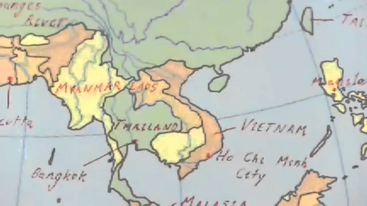 Asia Map Test YouTube – Asia Map Test