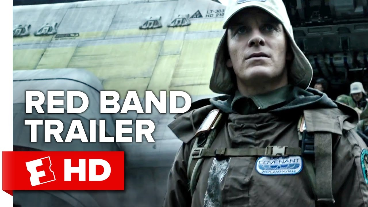 Download Alien: Covenant Official Red Band Trailer 1 (2017) - Michael Fassbender Movie