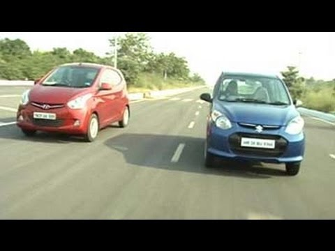 Maruti Suzuki's new Alto 800 on takes the Hyundai Eon