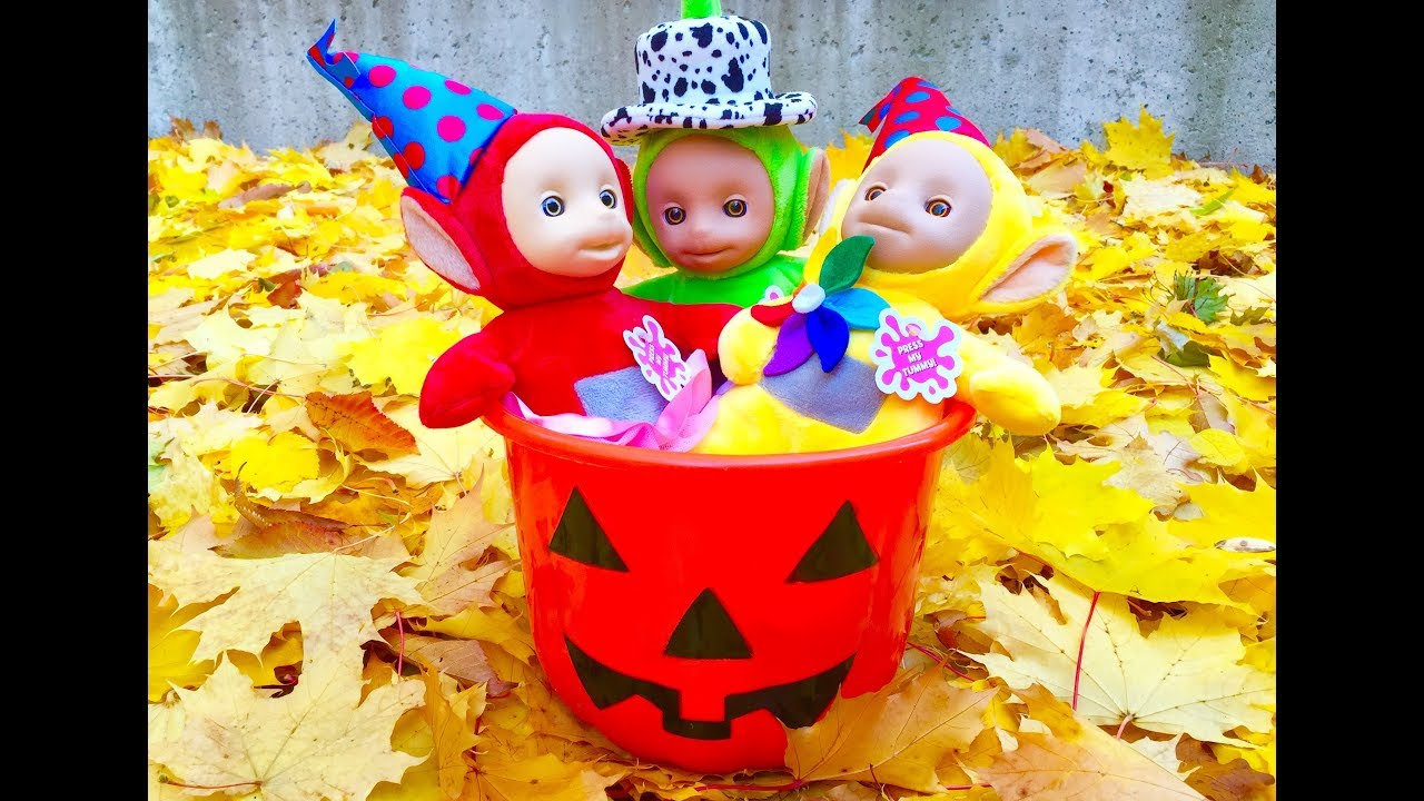 best halloween safety video learning kids teletubbies toys