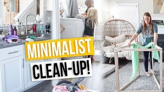 Minimalist COMPLETE DISASTER Clean With Me 2019! | Get My House In Order With Me!