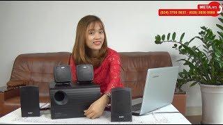 Loa SoundMax A4000 4.1 giá rẻ, âm thanh sống động