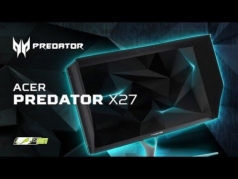 Обзор монитора Acer Predator X27 - 4К \ 144Hz \ 3000$!