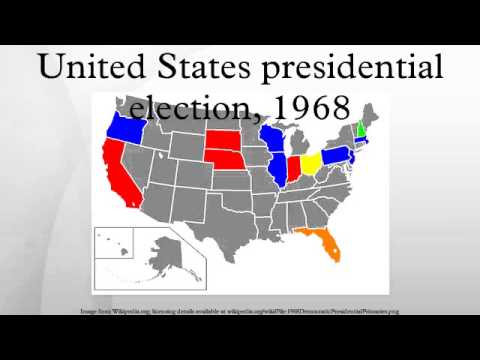 United States presidential election, 1968