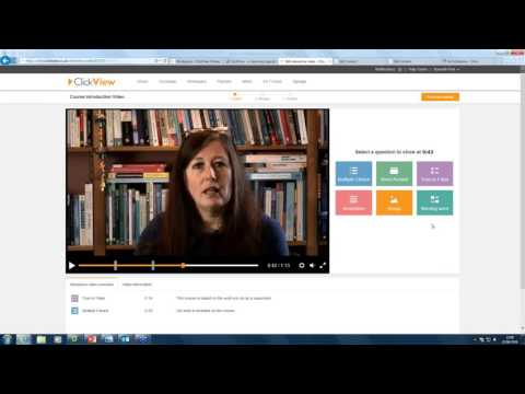 Creating interactive videos with ClickView