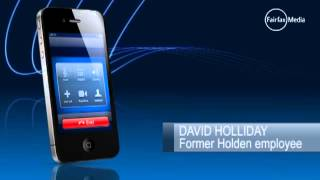 Former Holden employee David Holliday speaks on the closure announcement