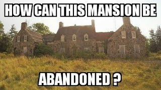 Exploring an Unbelievable 1900's Mansion - OMG!