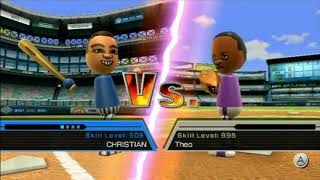 Wii Sports baseball Rage and Funny moments