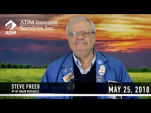 May 25 Morning Agriculture Commentary feat. Steve Freed