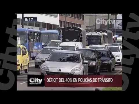 Déficit de Policías de tránsito en Bogotá |City Tv