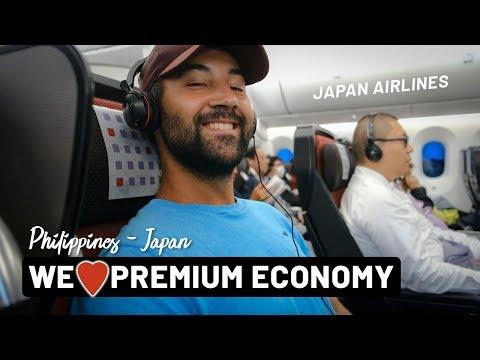 Flying PREMIUM ECONOMY With JAPAN AIRLINES! (Manila - Tokyo) | Japan | Vlog 081