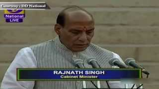 Shri Rajnath Singh sworn-in as Cabinet Minister in new Government