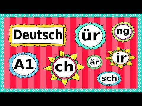 Deutsch A1: Phonetik