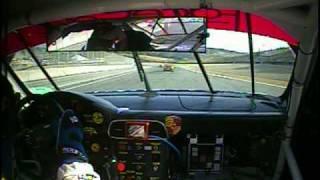 Rene Villeneuve- Laguna Seca 2010 ALMS #63 Porsche-In car