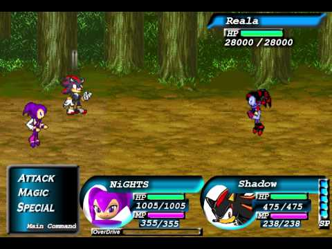 Sonic RPG: Episode 7: Boss Theme vs Reala