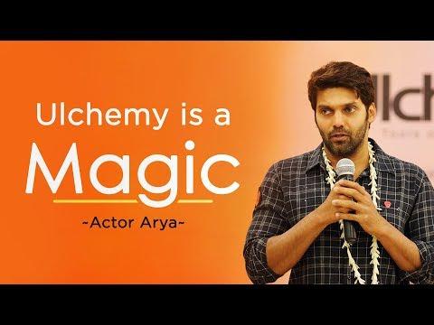 Ulchemy is a MAGIC, True life transforming program | Actor Arya