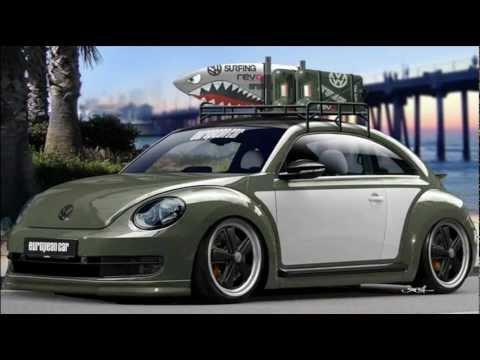 2012 European Car Magazine Volkswagen Beetle Beach Battle-Cruiser @ SEMA Show