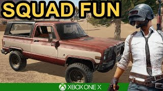 SQUADS WITH THE LADS / PUBG Xbox One X