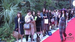 女性誌「GINGER」が創刊 8 周年を迎え、女性招待客限定でイベントを開催...