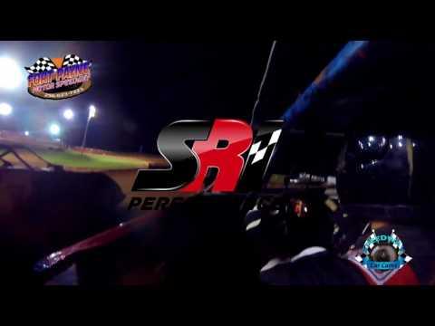 #86 Jason Lindbom - A-Hobby - 7-28-17 Fort Payne Motor Speedway - In Car Camera