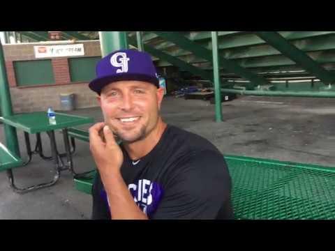 Matt Holliday reports to GJ
