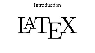 Introduction to LaTeX + installation on Windows and Ubuntu