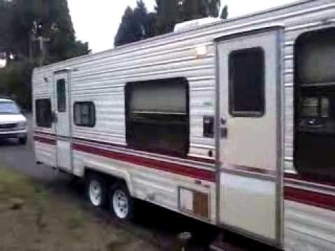 87 Terry Taurus 26 Camper Trailer 2800 Youtube