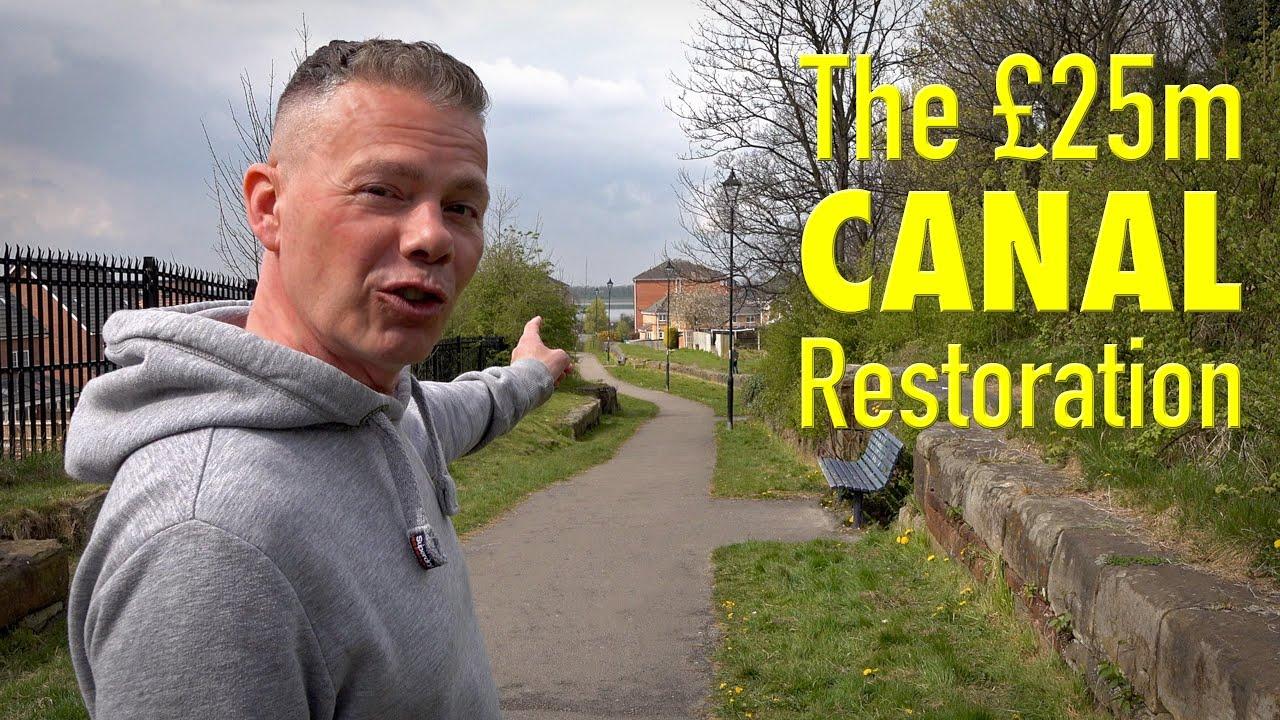 The HUGE £25m Canal Restoration to Unlock Runcorn.