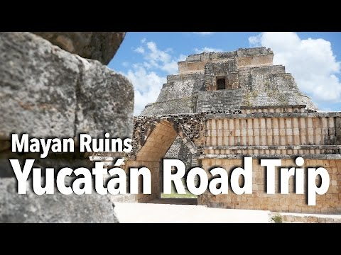 Yucatán Peninsula Road Trip: Chichen Itza and other Mayan ruins, cave diving, and Mexican food!