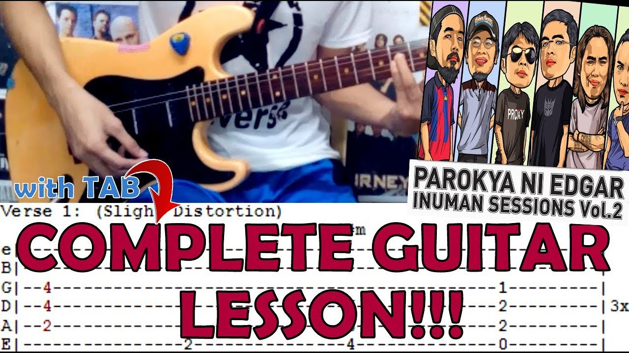 Your Songmy One And Only You Parokya Ni Edgareasy Guitar Lesson