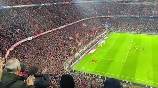 Allianz Arena On Fire After Robert Lewandowski Second Goal Vs Dortmund