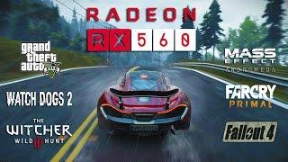 Radeon RX 560 Test in 7 Games (Ryzen 1400)