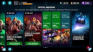 Golden Code - Expert - Final Path - I LOVE LAG - Transformers: Forged to Fight