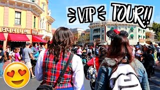 CELEBRITY VIP DISNEYLAND TOUR!! AlishaMarieVlogs