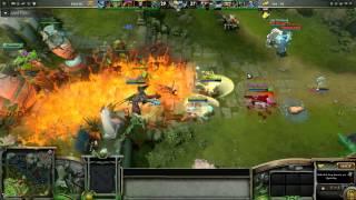 Navi vs Fnatic Game 2 D2L Last Fight Slow Motion